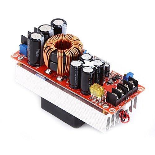 cersalt Módulo Elevador, práctico y Duradero convertidor Elevador de Voltaje, Entrada 10~60 V Salida 12~90 V Módulo de Suministro para Motores Led de Gran Potencia