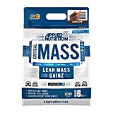 Applied Nutrition Critical Mass Professional Protein Powder, High Calorie Weight Gainer, Low Sugar, Informed Sport Tested, Lean Mass with Creatine, Glutamine, BCAA - 6kg (Chocolate)