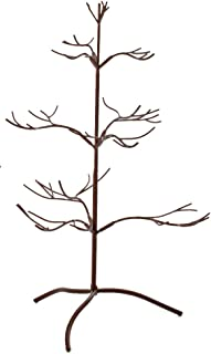 Red Co. Ornament Tree Christmas Décor/Jewelry and Accessory Display in Mahogany Finish - 25