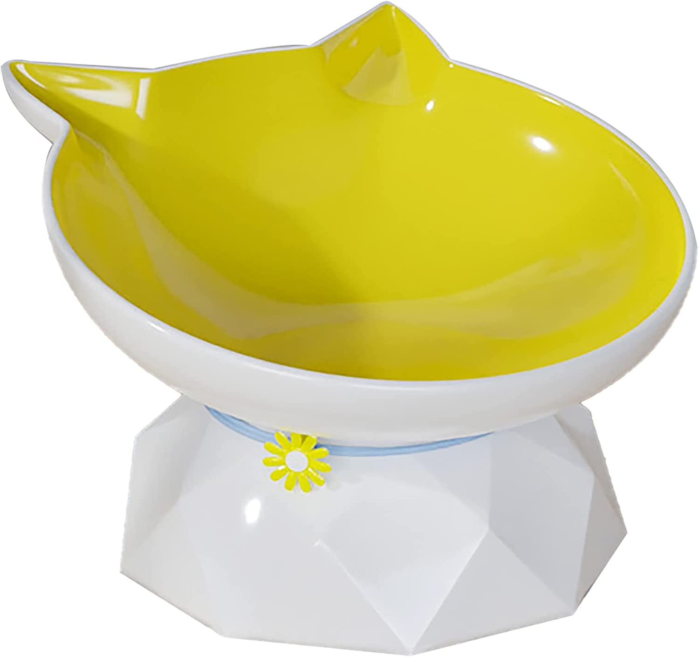 Max 46% OFF Cat Food Bowls Ceramic Pet Protect Pet's Elevated Bowl Max 77% OFF