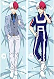 Promini Todoroki Shoto My Hero Academia Double Sided hugs Body Pillow case Cushion Cover 50x137cm(20x54 Inch)