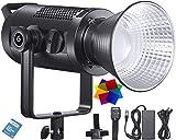 Godox SZ200Bi Luce video a LED, zoomabile bicolore 2800K-5600K-6500K CRI 97, TLCI 96 per produzione video, streaming online e fotografia (SZ200Bi)