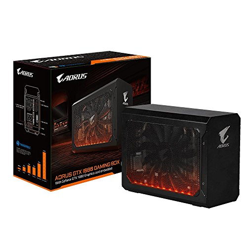 Gigabyte AORUS GTX 1080 Gaming Box GeForce GTX 1080 8GB GDDR5X - Grafikkarten (GeForce GTX 1080, 8 GB, GDDR5X, 10010 MHz, 7680 x 4320 Pixel, PCI Express x16 3.0)