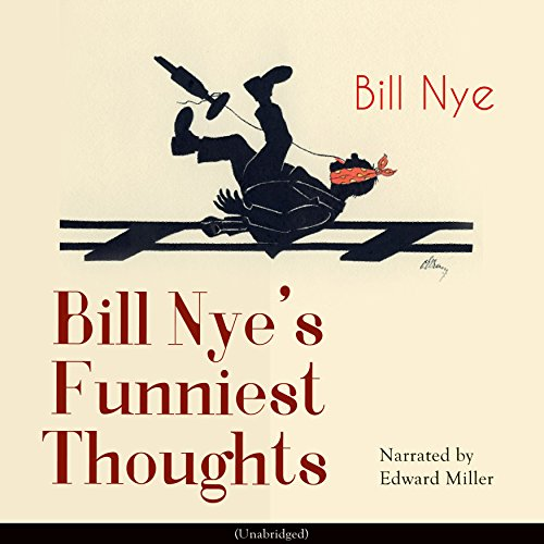 Bill Nye's Funniest Thoughts audiobook cover art