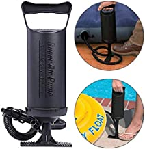 WEY&FLY High Output Hand Pump Double Quick Air Pump for Mattress Pump Universal Manual Air Pump for Inflatables Double Quick Air Volume Heavy Duty PP Plastic for Mattress Pump,Tubing,Ball, etc(8108)