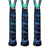 Alien Pros Tennis Racket Grip Tape (6 or 3 Grips) – Tac Moisture Feel Tennis Grip...