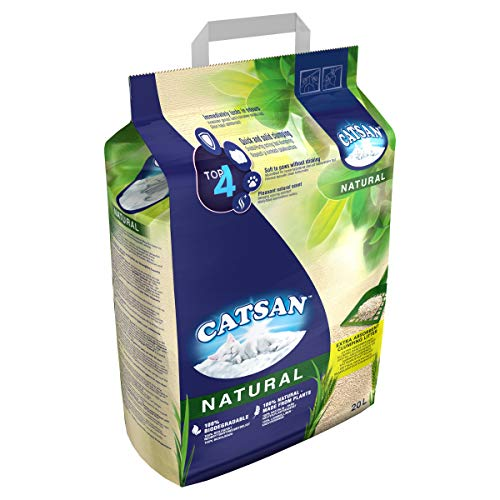 Catsan Natural Clumping Cat Litter, 100%...