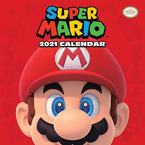 Nintendo - Calendario oficial 2021 Super Mario