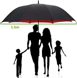 150センチゴルフ傘男性強い防風半自動長い傘大男と女性のビジネス傘メンズ