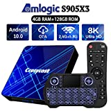 Best Android Tv Boxs - Android TV Box 10.0 4GB 128GB Smart TV Review