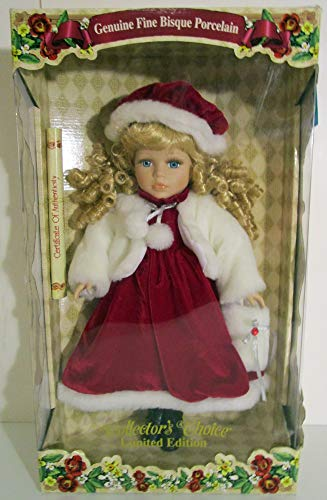 Collector's Choice Limited Edition Christmas Girl Doll