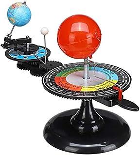 天体 軌道模型 ソーラーシステムモデル 太陽系プラネタリウム 三球儀 太陽 地球 月 動く模型 物理玩具 惑星軌道模型 天体運動 教育玩具 知育おもちゃ 入学 誕生日プレゼント天体 おもちゃ