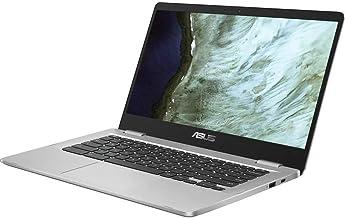 "Asus C423NA Chromebook 14"" Full HD FHD(1920x1080) Laptop (Intel Dual Core Celeron Processor N3350, 4GB DDR4 RAM, 32GB eMM..."