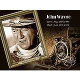 Metallschild Hollywood Legend John Wayne