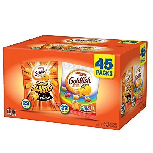 Pepperidge Farm Goldfish 45.9 Ounce Variety Pack, 45 ct.