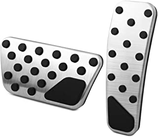 VCiiC No Drill Gas Pedals Cover for Dodge Charger Chrysler 300 Challenger Stainless Pedal pad kit