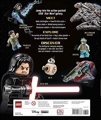 LEGO Star Wars Visual Dictionary, New Edition: With exclusive Finn minifigure