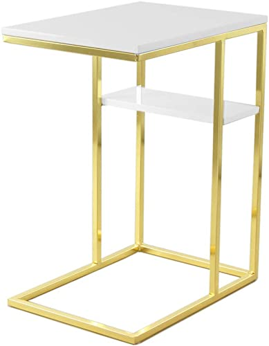 el más barato Kayoom Side Table Lucilla 110 110 110 blanco oro  autorización