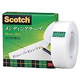 3M スコッチ テープ メンディングテープ 18mm×30m 小巻 810-1-18