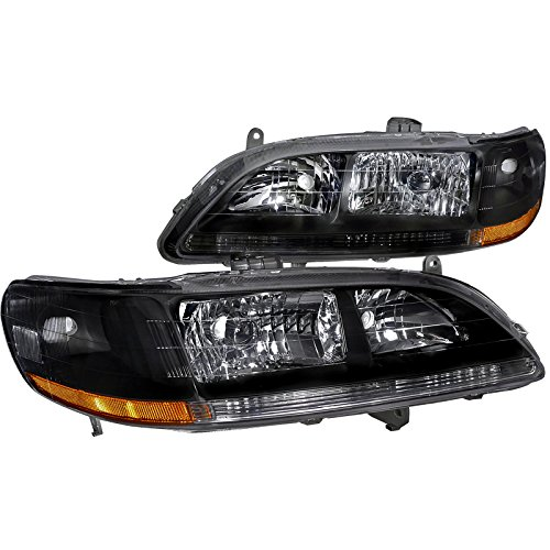 01 honda accord coupe headlights - 2