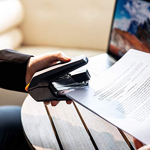 Amazon Basics Reduced Effort Desk Stapler, 40 Sheet Capacity - Black, 3 Pack Photo #4