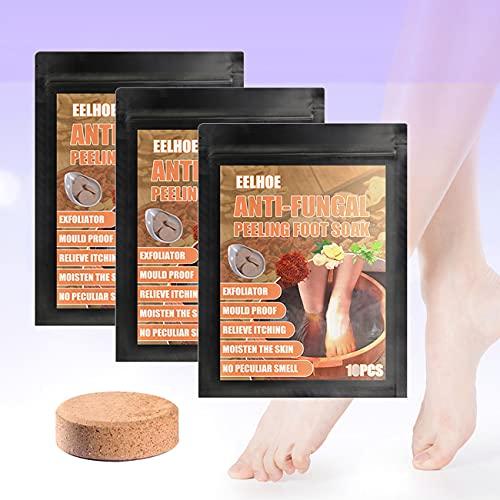 10pcs set Foot Soaking Tablets, Foot Soak Chinese Herbal Foot Bath Spa Boost Immunity, Natural Chinese Medicine Foot Bath Health Care Tool Improve Sleeping (three)