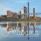 Alabama Calendar 2022: Gifts for Friends and Family with 12-month Monthly Calendar in 8.5x8.5 inch