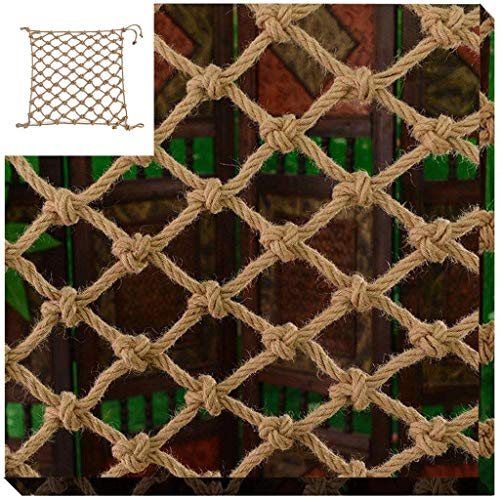 Child Safety Net Protection Climbing Frames Children climbing net, hanging bridge fence net balcony stairs anti-falling net theme restaurant wall decoration partition net hanging clothes net, 2*8m