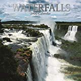 2020 Wall Calendar - Waterfalls Calendar, 12 x 12 Inch Monthly View, 16-Month, Travel and Destination Theme, Includes 180 Reminder Stickers