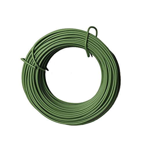 VIMOA Garden Twine Bonsai Training Wire 65 Feet 2mm Garden Twist Tie DIY Plant Cage for Tomato Plants, Climbing Roses, Vines, Cucumbers and Squash