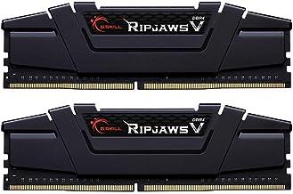 G.Skill Ripjaws V Gaming Serisi CL18 (18-22-22-42) Alüminyum Soğutuculu 1.35V Dual Bellek Kiti, 2x8GB, 3600 MHz, Siyah