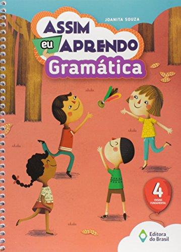 Assim Eu Aprendo Gramática. 4º Ano