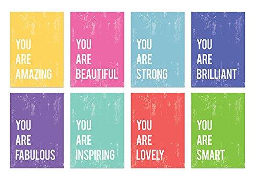 您是迷你系列5x7墙艺术印刷品,排版,苗圃装饰,孩子的墙壁艺术印刷,孩子的房间装饰,性别中性,激励词艺术,鼓舞人心的艺术品,婴儿室装饰