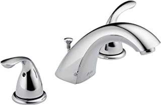 Delta Faucet 3530LF-SSMPU Classic Two Handle Widespread Bathroom Faucet, Stainless