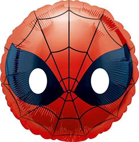 Amscan International 3636401 Spider-Man Emoji Foil Balloon