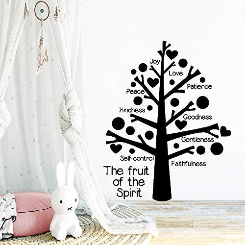 hetingyue muursticker boom van de vrede, liefde, afneembaar, muursticker afneembaar, behang