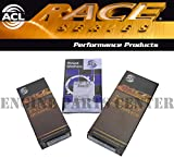 ACL RACE ROD & Main & Thrust Washer Bearings compatible with Acura Honda B16A B18A B18B B2...