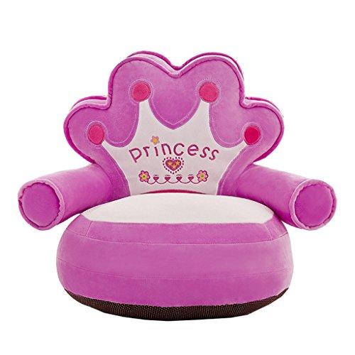 Niños Silla para Niños Sillón Suave Sofá Asiento Asiento Dormitorio Sala De Juegos Decoración - # 1 Púrpura
