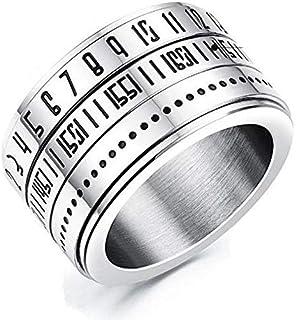 خاتم مطلي تيتانيوم بطراز كوري - رجال
