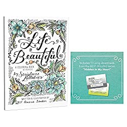 Life Beautiful scripture and devotional journal and coloring book