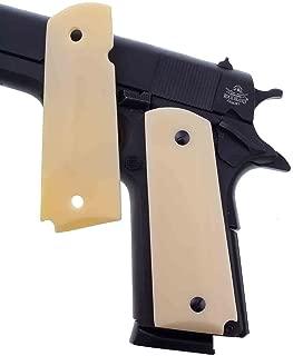 Premium Gun Grips 1911 Grips Faux Aged Colt Gov. & Clones Taurus, S&W, Springfield, Rock Island Faux Full Size