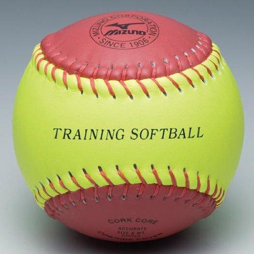 ミズノ ソフトボール トレーニングボール 回転チェック用 1BJBS85200 ball16