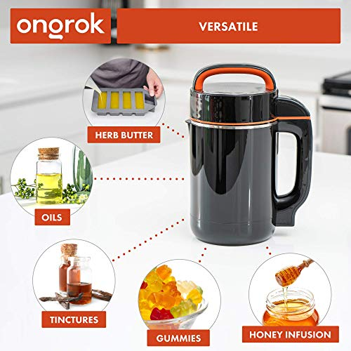 ONGROK Butter Maker Machine   Herbal Extractor and Automatic Oil Maker for Oil, Tincture, and Butter, Full ETL-Certified Kit
