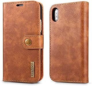 Apple iPhone XS/iphone X Max business multifunction leather case flip cover shell card pockets anti fall shockproof protec...