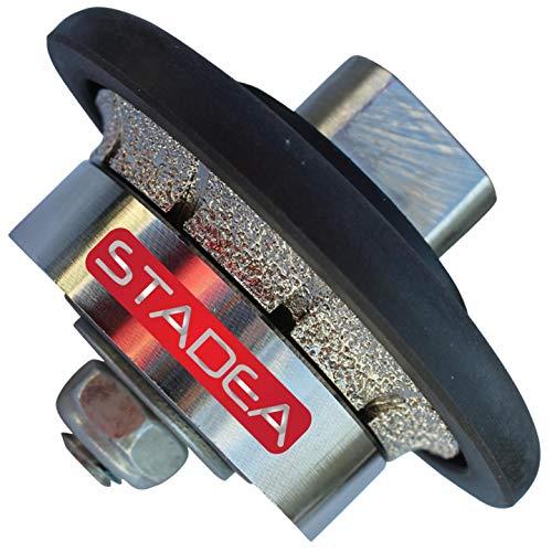 3/16' Stone Diamond Router bit Granite Profile Wheel - for Hand Profiler Marble Demi Half Bullnose Radius B5 Edges Grinding by STADEA