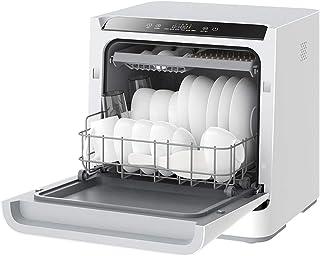 Lavavajillas inteligente de escritorio del hogar desinfección automática de secado y mini lavavajillas-6 máquina modos de lavado, limpieza después de 75 □ DDLS