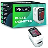 Prove Fingertip Pulse Oximeter | Batteries and Lanyard Included | for Measuring Pulse Rate and SpO2 Levels