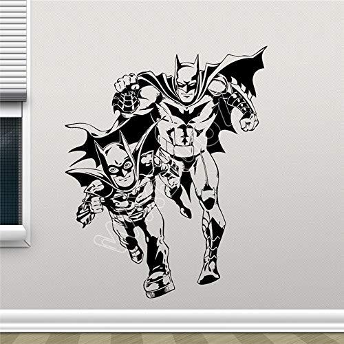 Hetingyue Hero Bat Nursery muurstickers, vinyl, wandtattoo, wanddecoratie, woonkamer