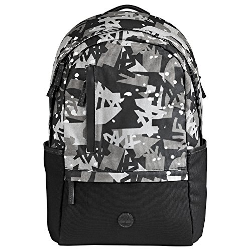 Timberland Backpack Multicolor Print Unisex Backpack (OS, Black Camo)