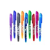 Entweg 0.5mm Bullable Neutral Pen School Oficina Borrable Ink Ink Pen 9 colores